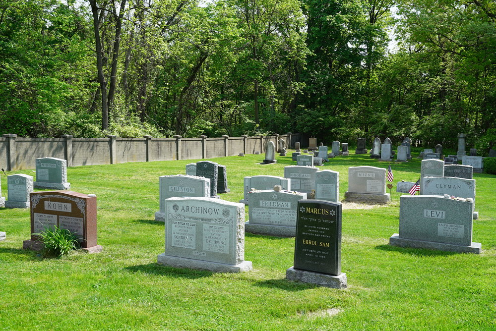 Norristown Jewish Community Center Cemetery a.k.a Tiferet Bet Israel Cemetery. Plymouth Meeting, Pennsylvania.