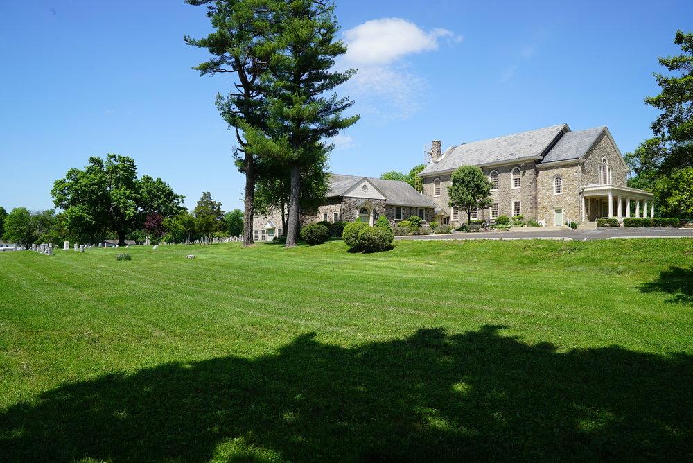 North & Southampton Reformed Church Cemetery - Churchville, Pennsylvania.