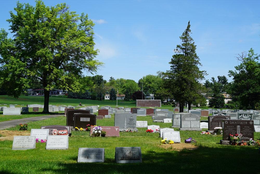 King David Memorial Park - Bensalem, Pennsylvania.