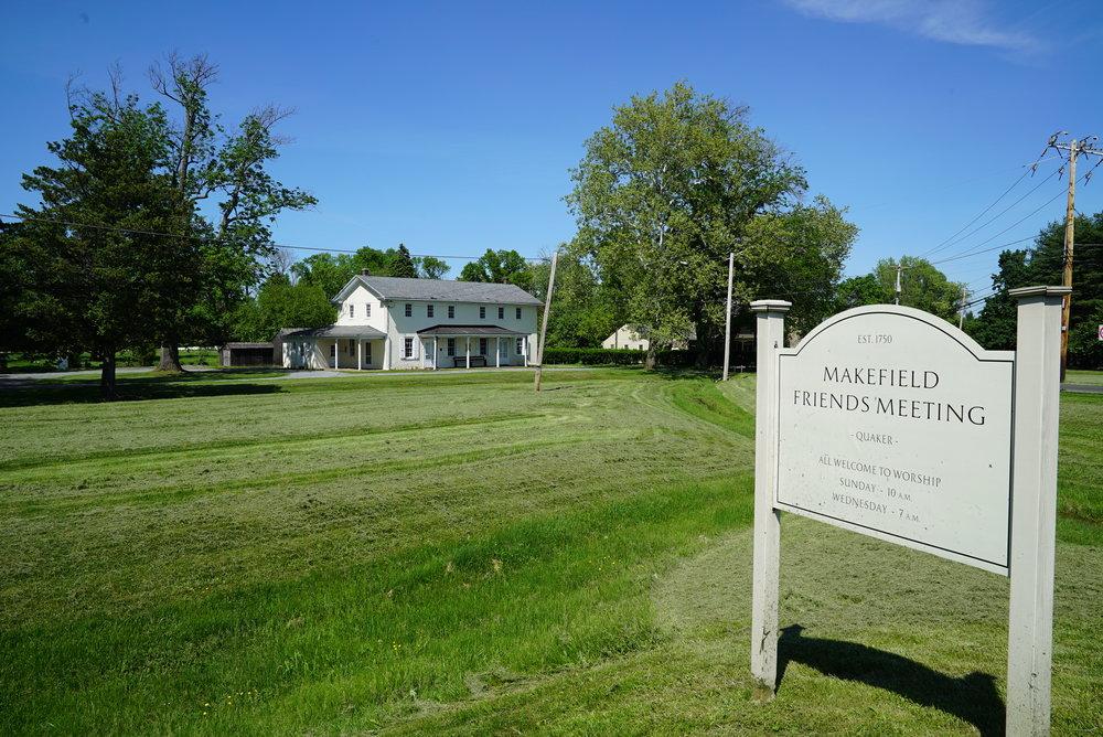 Makefield Friends Meeting Cemetery - Newtown, Pennsylvania.