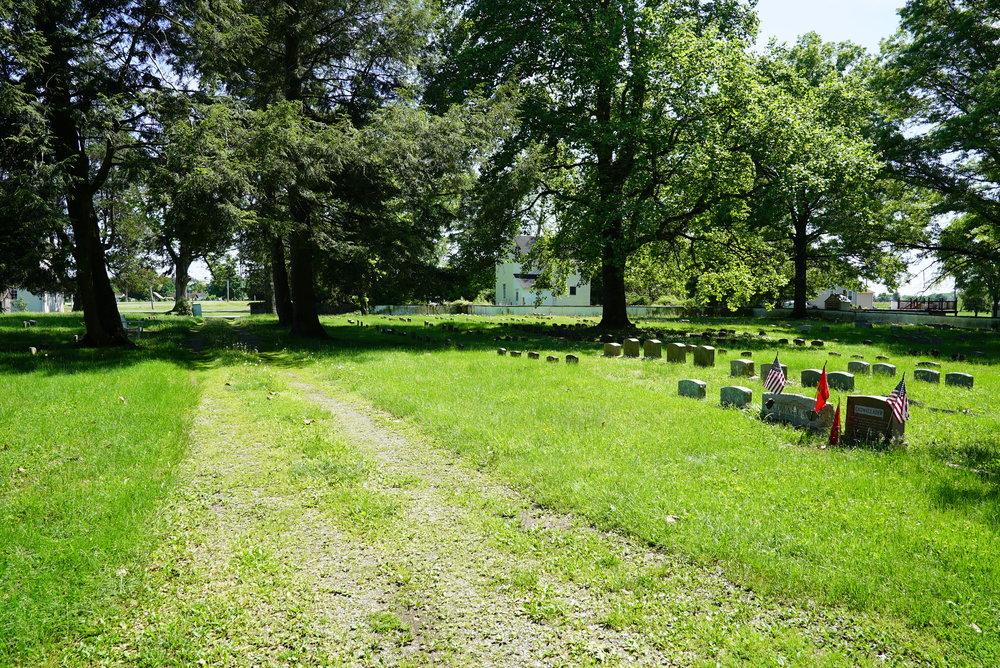 Makefield Friends Meeting Cemetery - Newtown area, Bucks County. (Pennsylvania.)