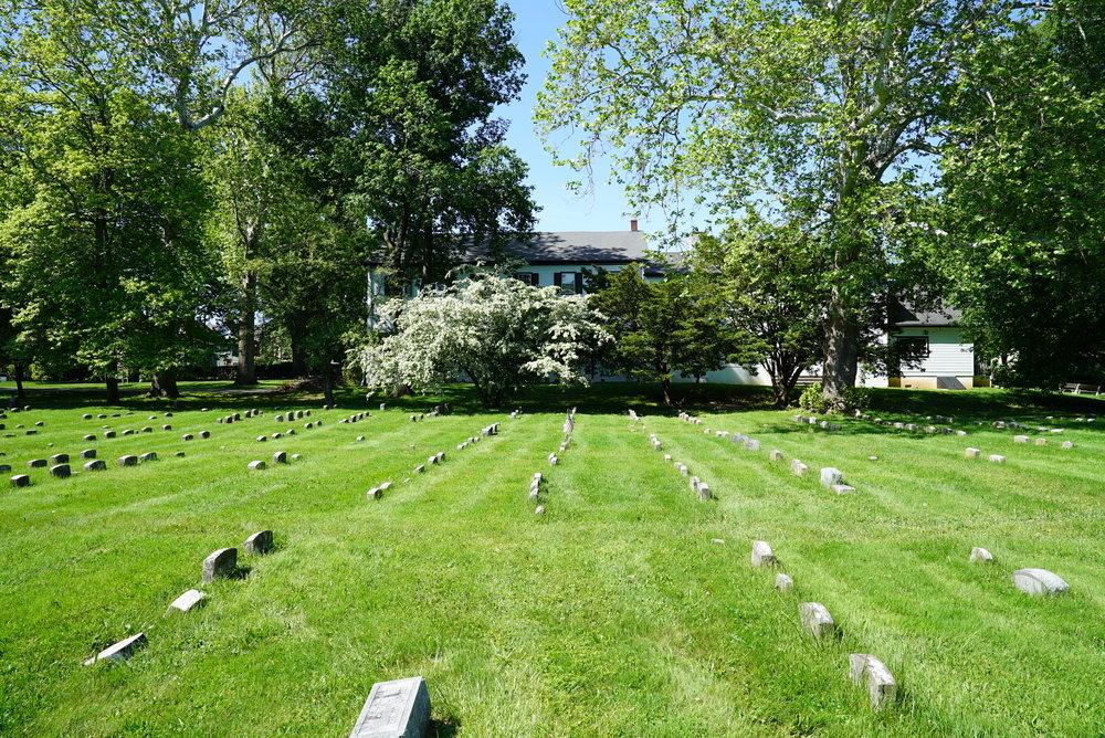 Newtown Friends Meeting Cemetery - Newtown, Pennsylvania.