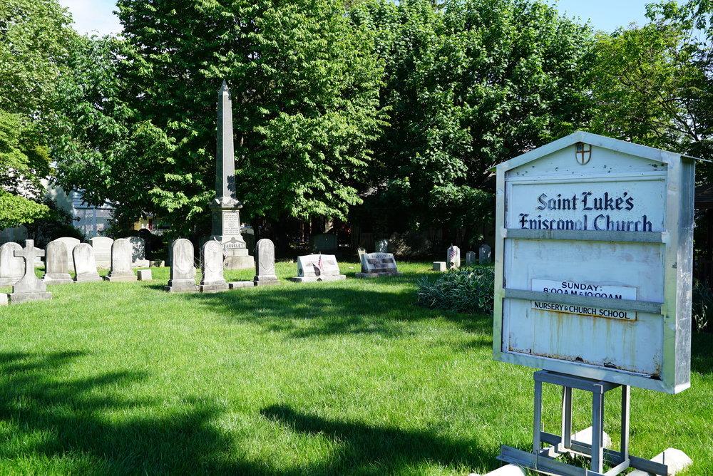 St. Luke's Episcopal Church Cemetery - Newtown, Pennsylvania.