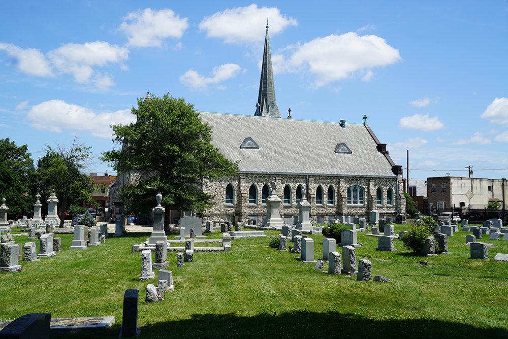 Trinity Lutheran Cemetery. South Philadelphia, Pennsylvania.