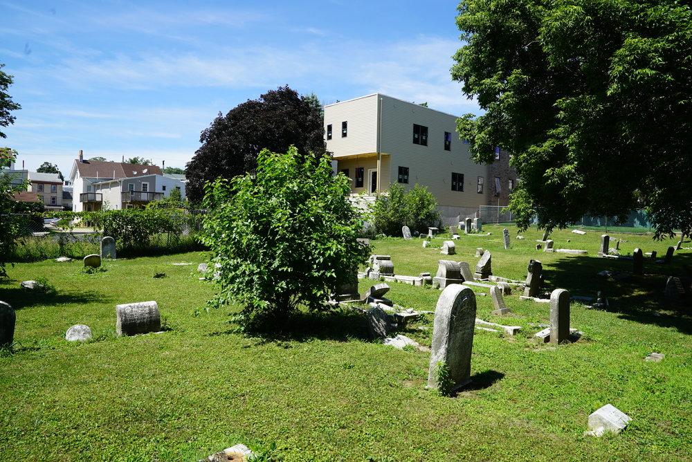 Bethany Lutheran Church Cemetery. Roxborough section of Philadelphia.