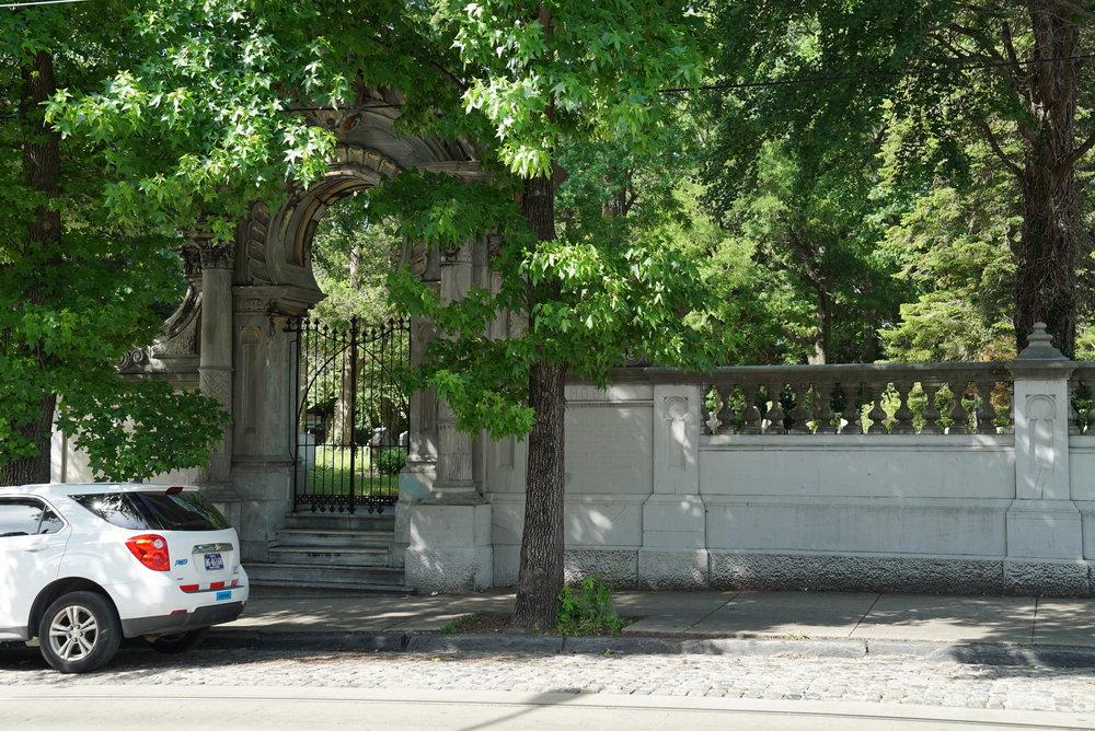 Hood Cemetery. Germantown section of Philadelphia.
