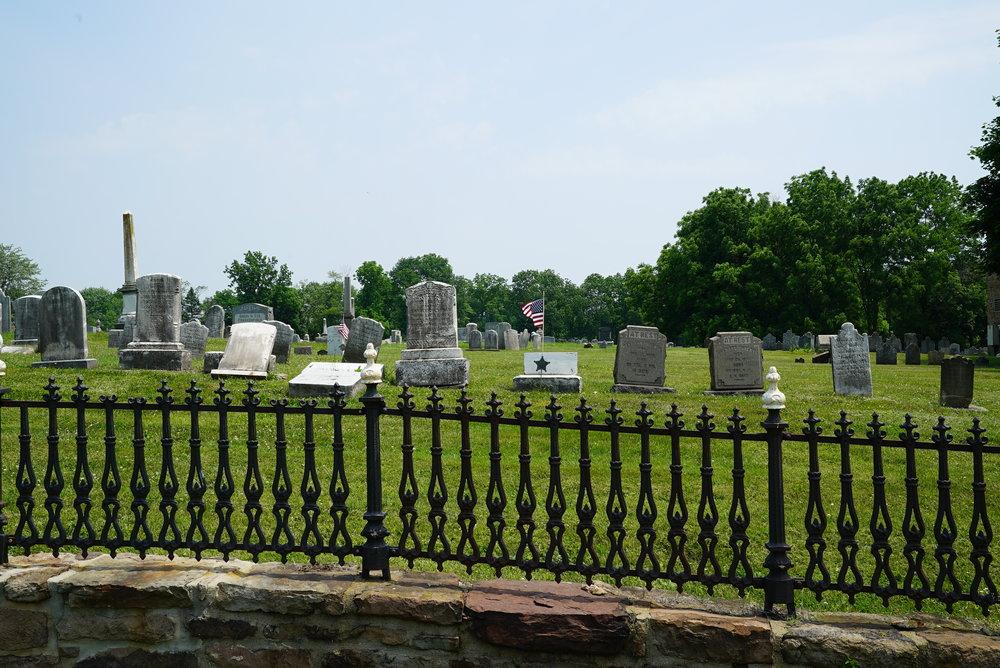 Pleasant Hill Cemetery. Bucks County, Pennsylvania.