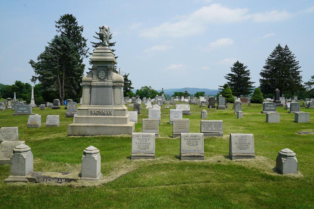 Durham Cemetery. Durham, Pennsylvania.