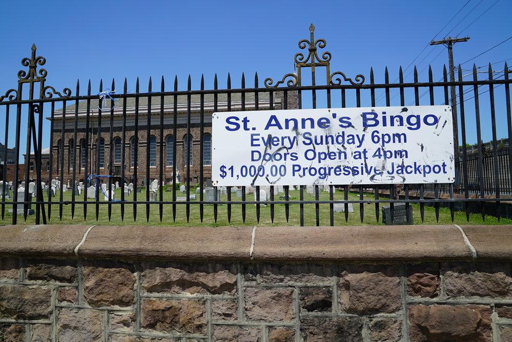 St. Anne's Church Cemetery. Philadelphia, Pennsylvania.