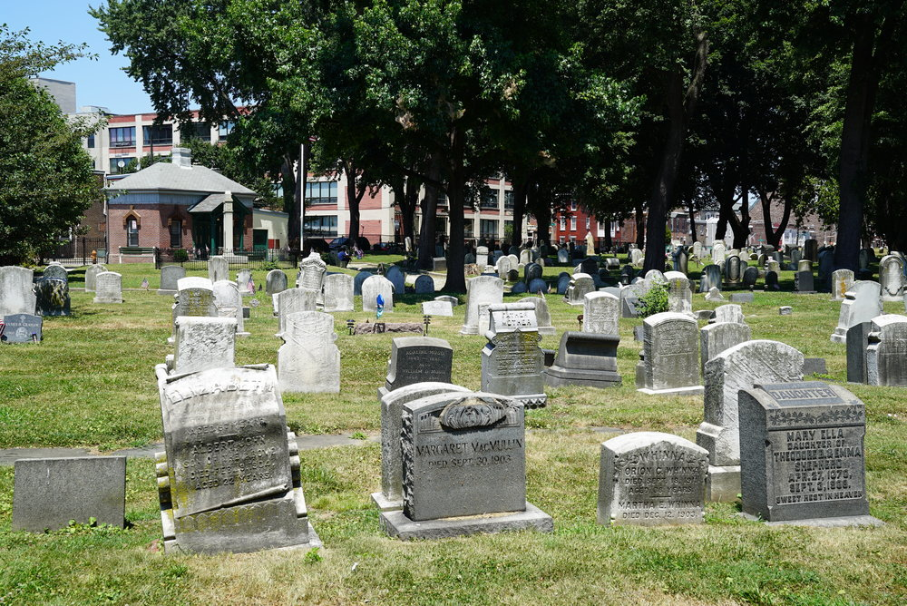 Palmer Cemetery. Philadelphia, Pennsylvania.