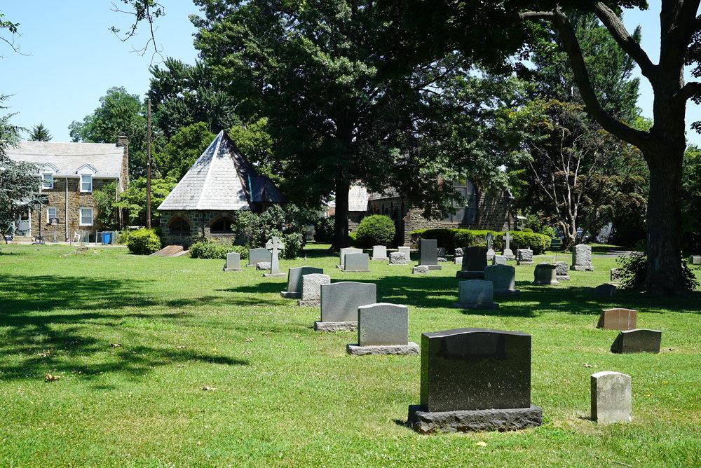 St. Luke's Memorial Episcopal Church Cemetery. Philadelphia, Pennsylvania.