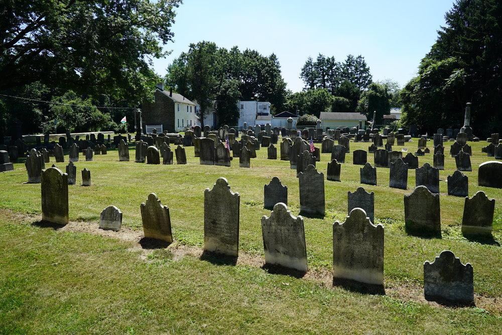 Pennepack Baptist Church Cemetery. Philadelphia, Pennsylvania.