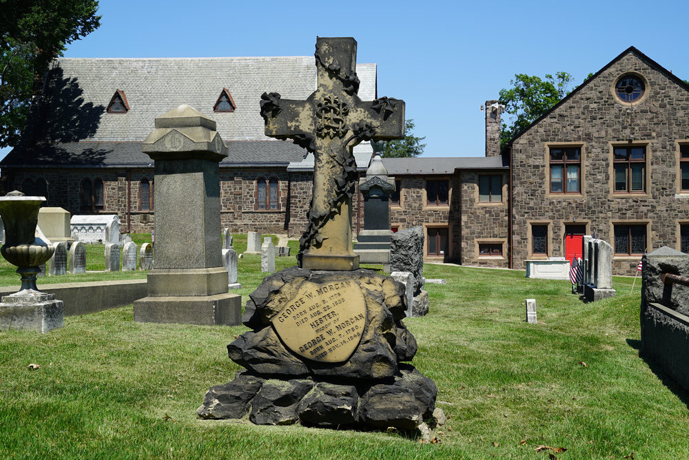 All Saints' Episcopal Church Cemetery, Torresdale section of Philadelphia.
