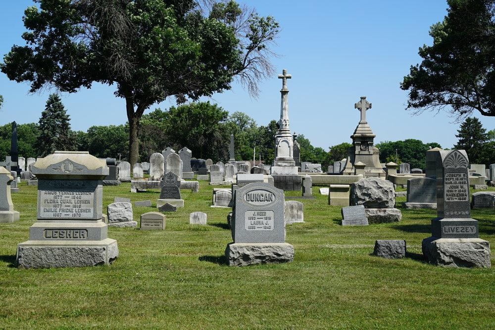 William Penn Cemetery. Somerton section of Philadelphia.