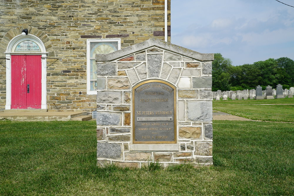 St. Peter's Tohickon United Church of Christ Cemetery. Perkasie area of Bucks County, Pennsylvania.
