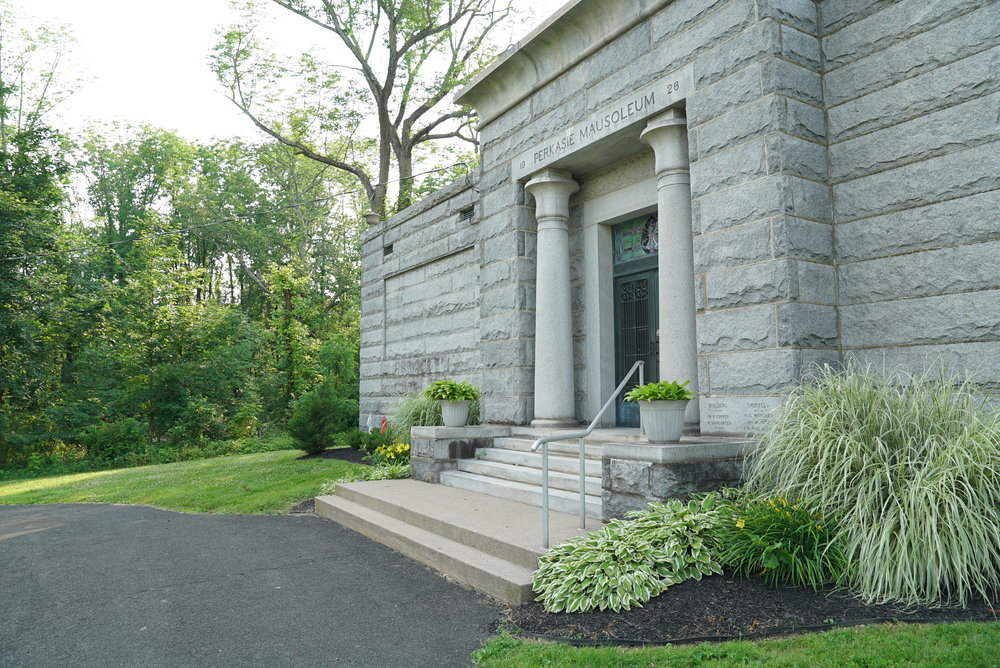 Perkasie Mausoleum. Bucks County, Pennsylvania.