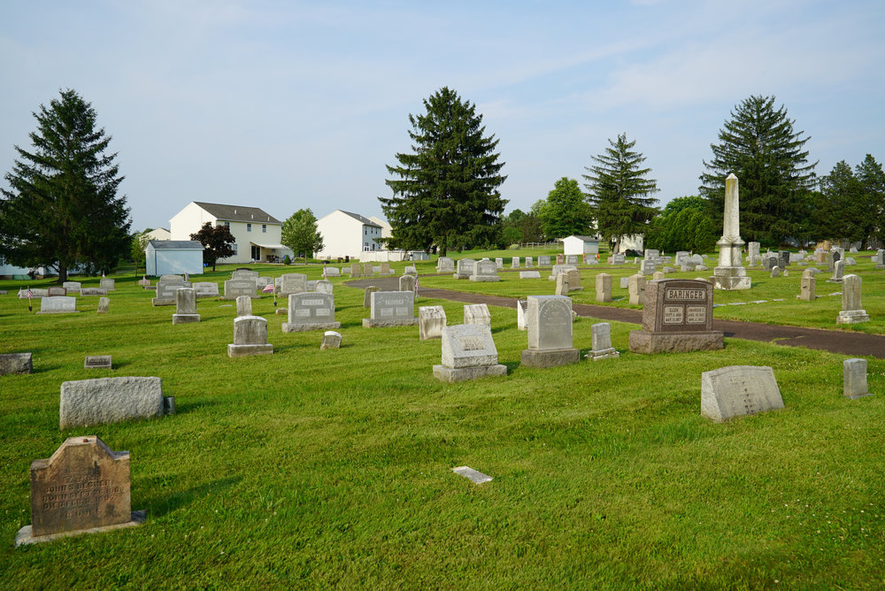 St. Andrew's United Church Of Christ Cemetery - Perkasie, Pennsylvania.