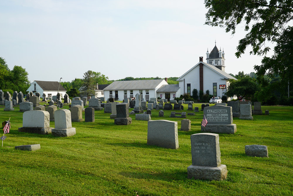 St. Andrew's United Church Of Christ Cemetery - Perkasie, Pennsylvania. (Also known as St. Andrew's Union Cemetery.)