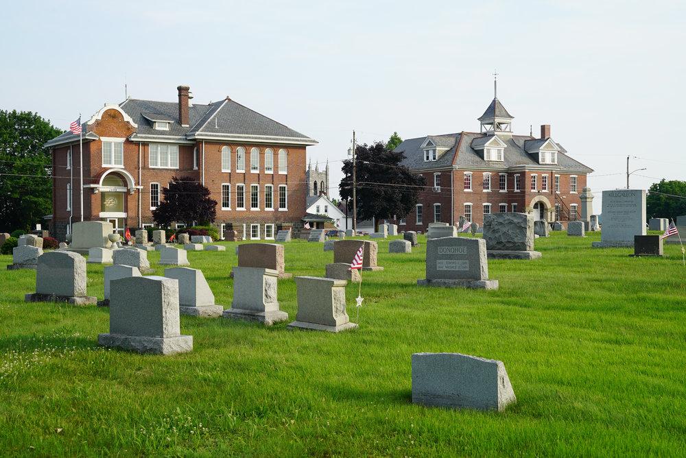 Sellersville Cemetery.