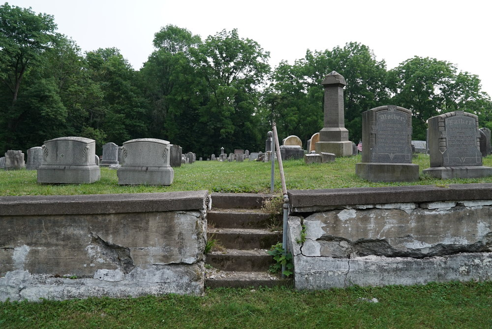 Hetrick Cemetery. Just down the road from Ridge Valley Cemetery. Sellersville, Pennsylvania.