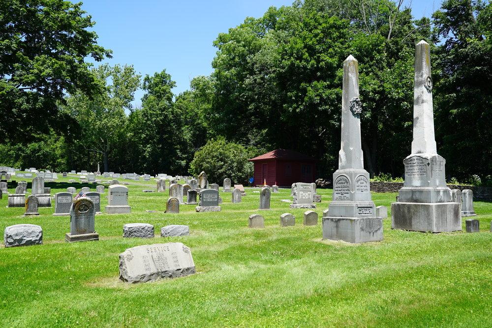 Neshaminy Warwick Cemetery. Warminster, Pennsylvania.
