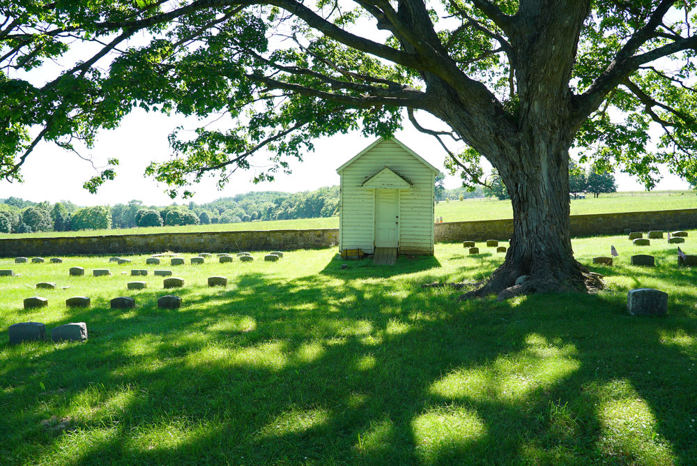 Solebury Friends Cemetery. New Hope, Pennsylvania area.