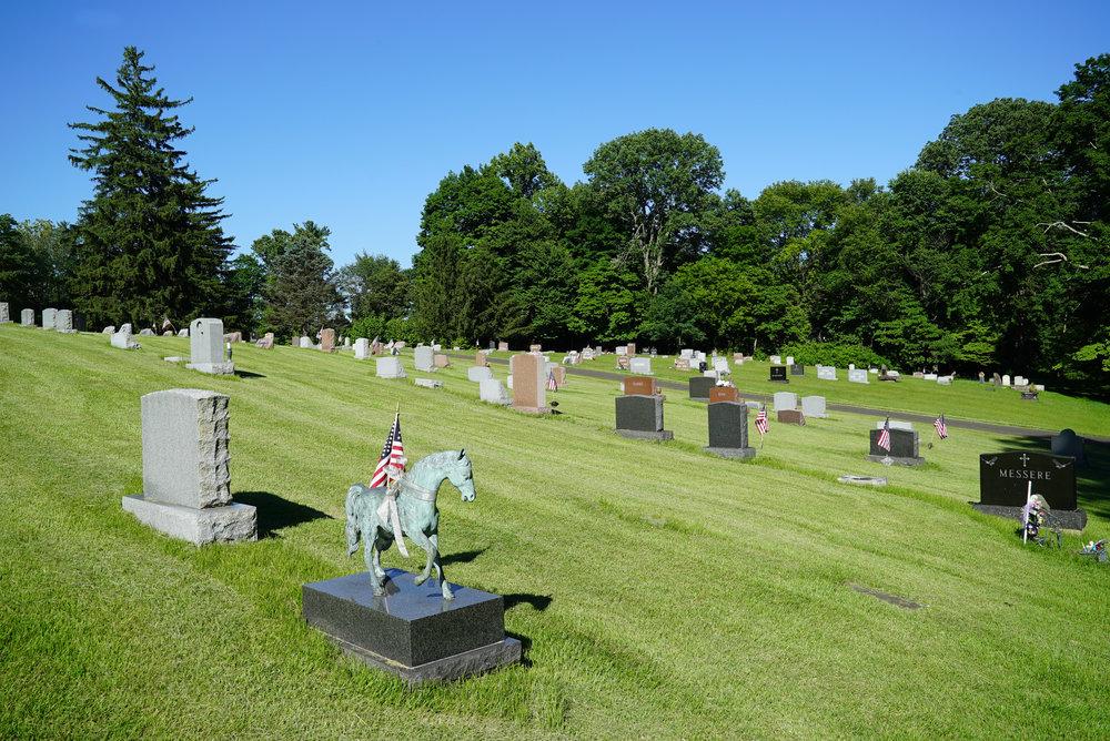 Thompson Memorial Cemetery. New Hope, Pennsylvania.