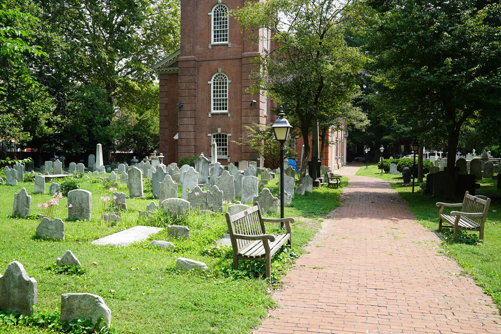 St. Peter's Church Yard - Philadelphia, Pennsylvania.