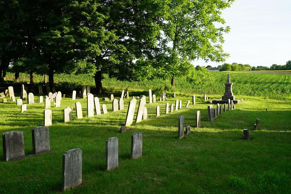 St. Luke Evangelical Lutheran Church Cemetery. Ferndale, Pennsylvania.