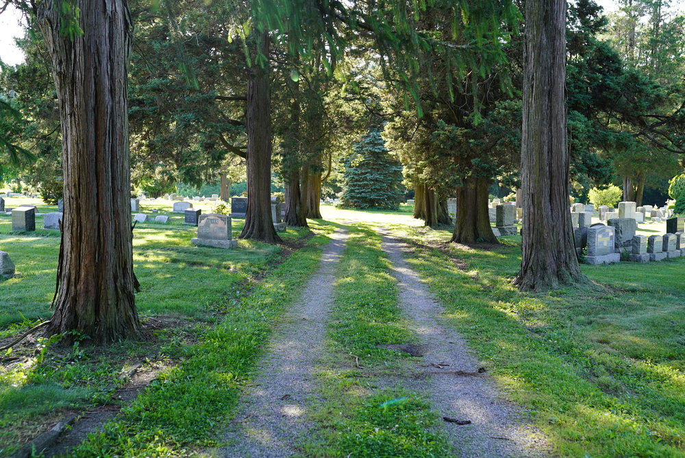Mechanicsville Cemetery. Buckingham Township, Pennsylvania.