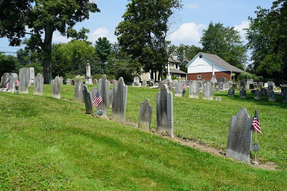 New Britain Baptist Church Cemetery - New Britain, PA