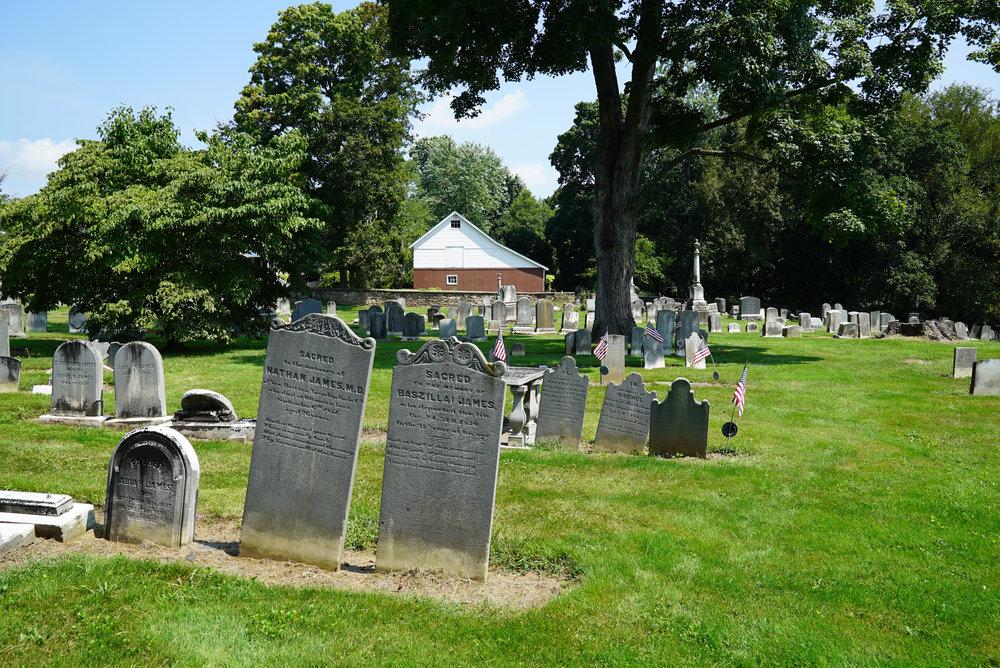 New Britain Baptist Church Cemetery - New Britain, Pennsylvania.