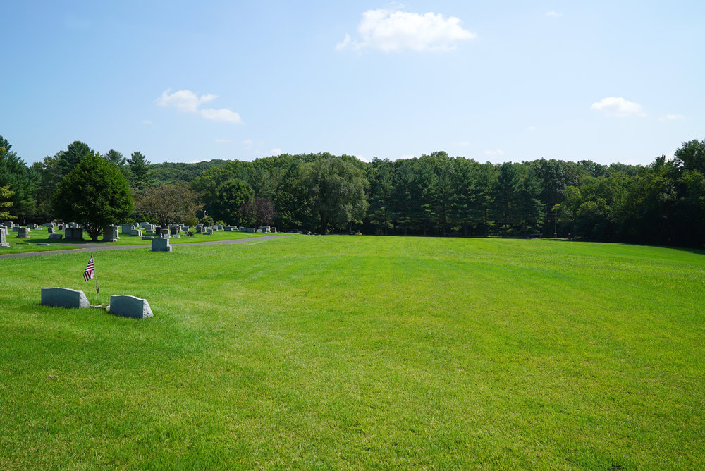Abundant burial space still available at Beulah Cemetery.