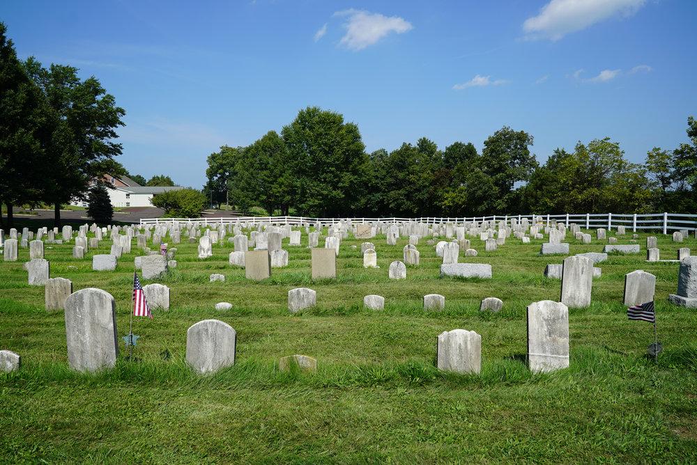 Rockhill Mennonite Church Cemetery - Telford, Pennsylvania
