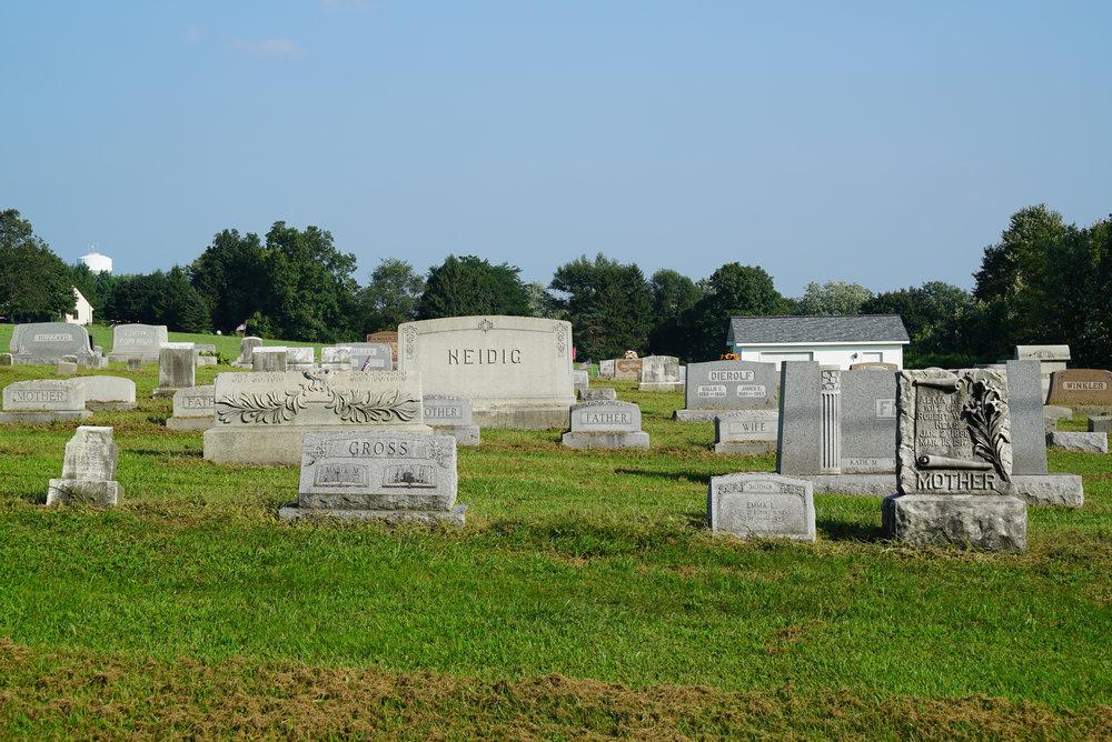 St. John's Lutheran Church Cemetery - Spinnerstown, Pennsylvania