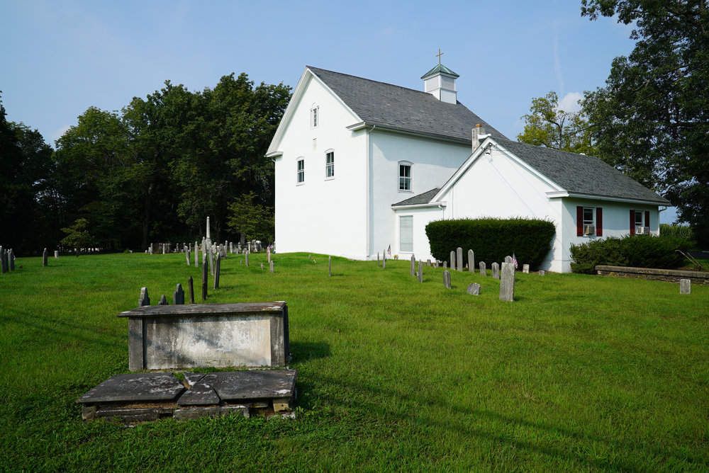 St. Luke's United Church of Christ Cemetery - Red Hill, Pennsylvania