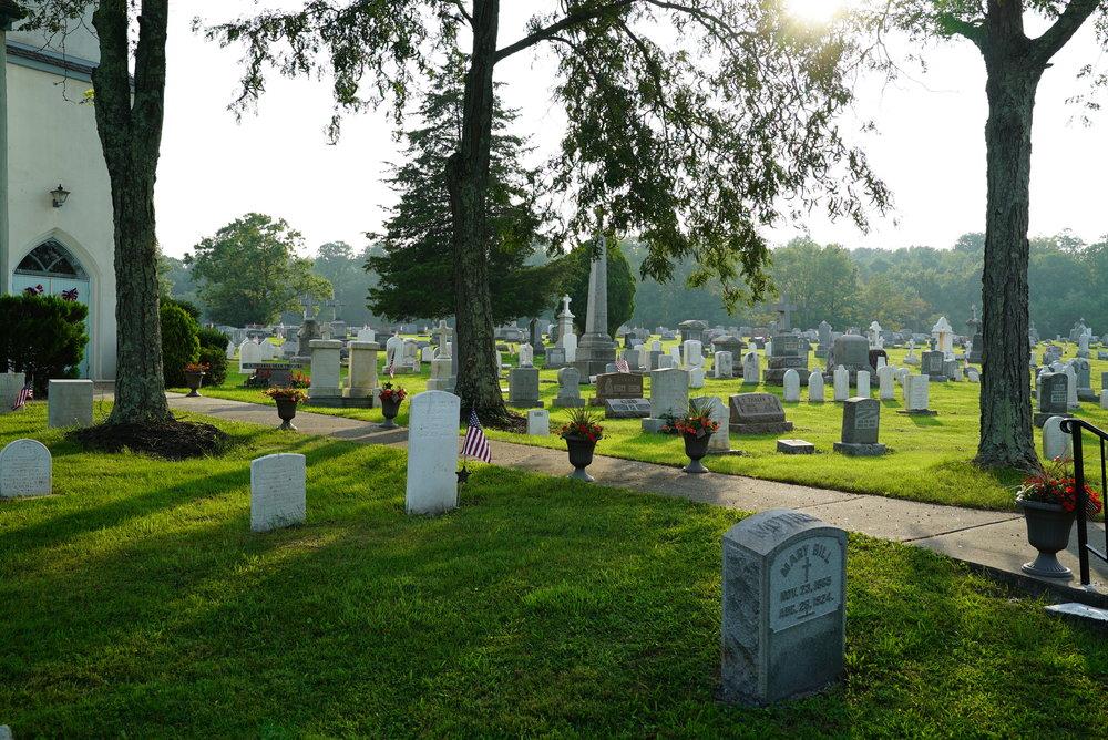 St. John the Baptist Roman Catholic Cemetery - Kintnersville, Pennsylvania