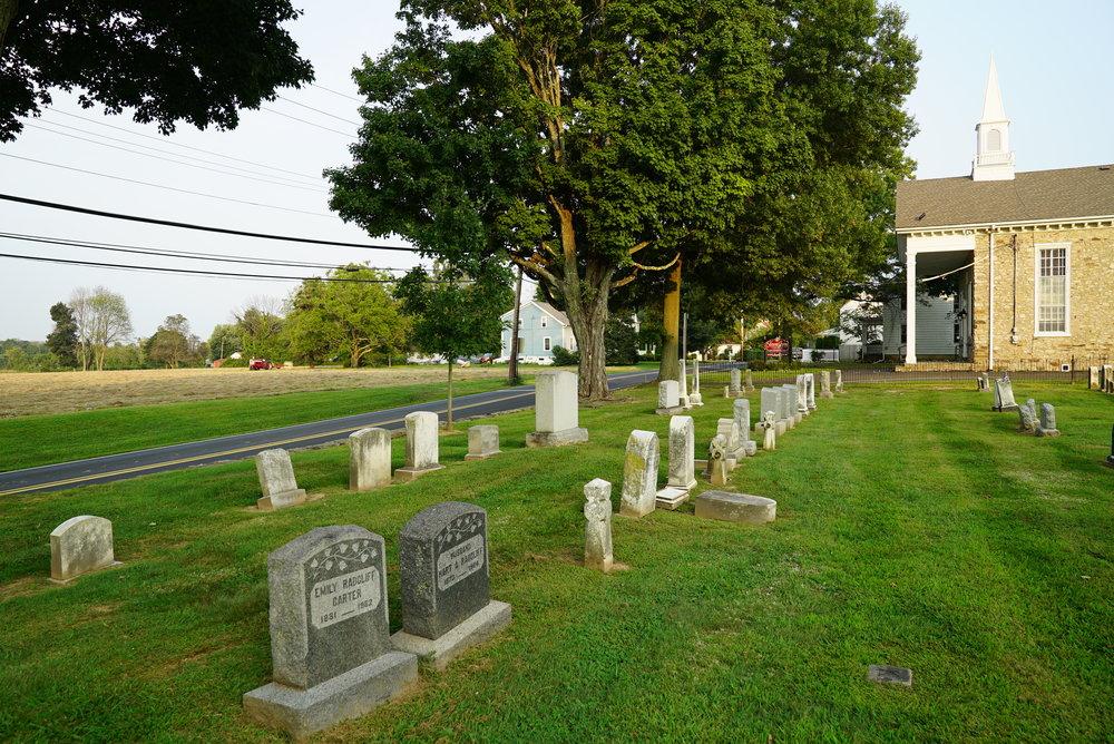 Forestville Cemetery - Forest Grove, Pennsylvania.