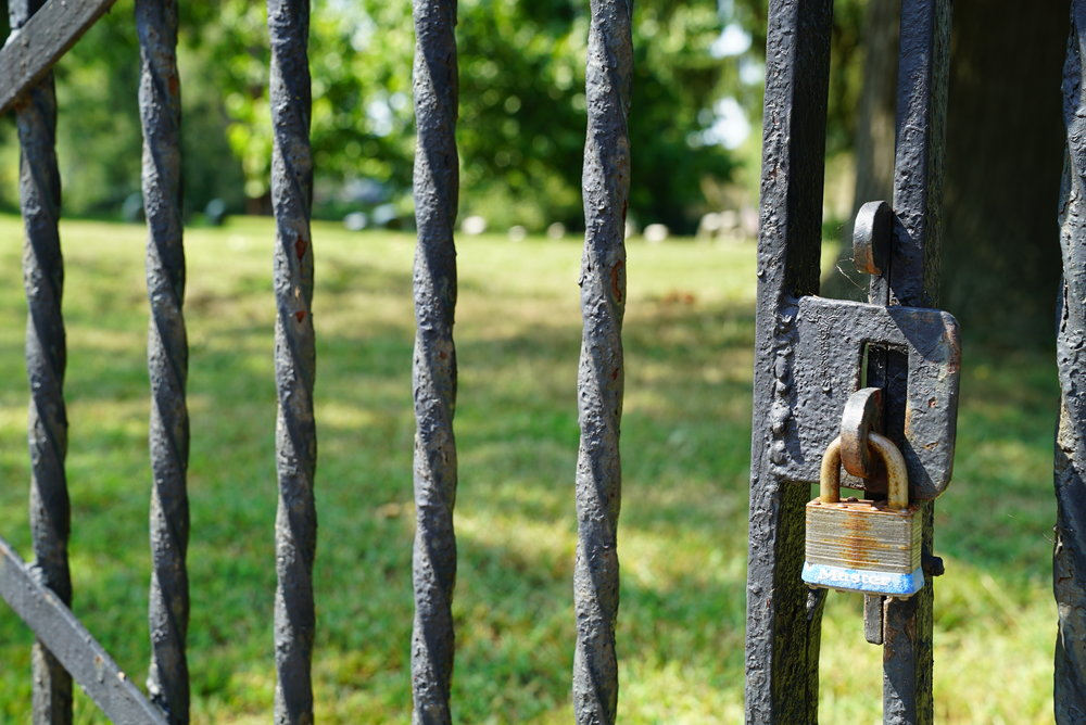 Bristol Friends Cemetery - Bristol, Pennsylvania. No access.