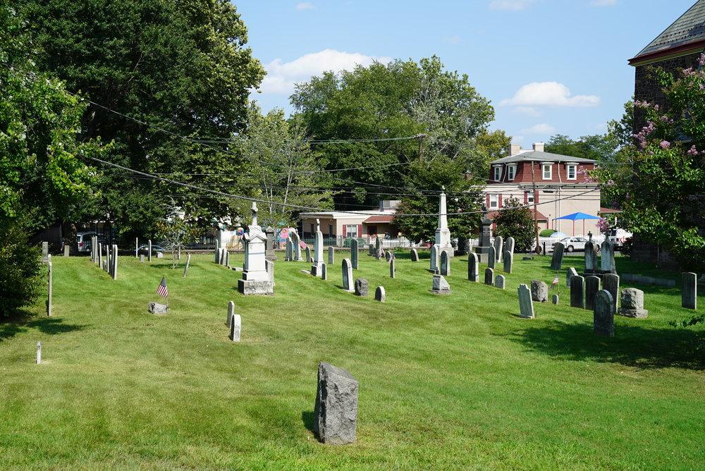 St. Mark Roman Catholic Churchyard - Bristol, Pennsylvania.