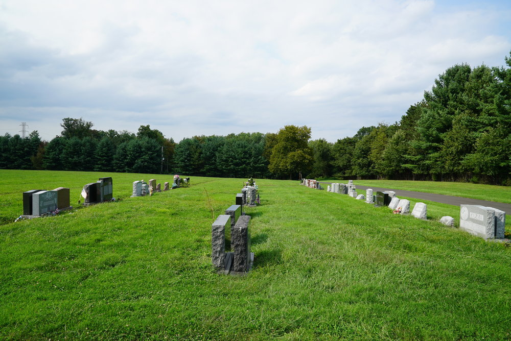 Our Lady Of Sorrows Cemetery - Langhorne, Pennsylvania.
