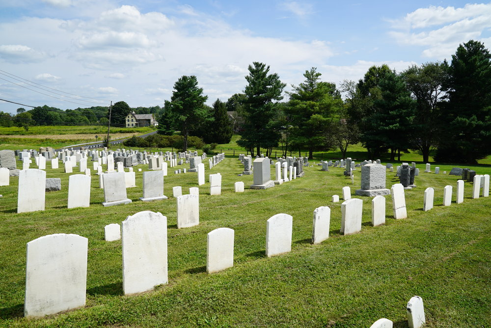 Blooming Glen Mennonite Church Cemetery - Blooming Glen, Pennsylvania.