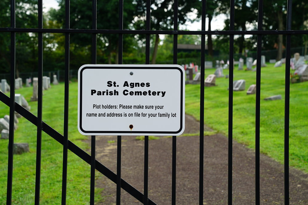 St. Agnes Parish Cemetery - Sellersville, Pennsylvania.