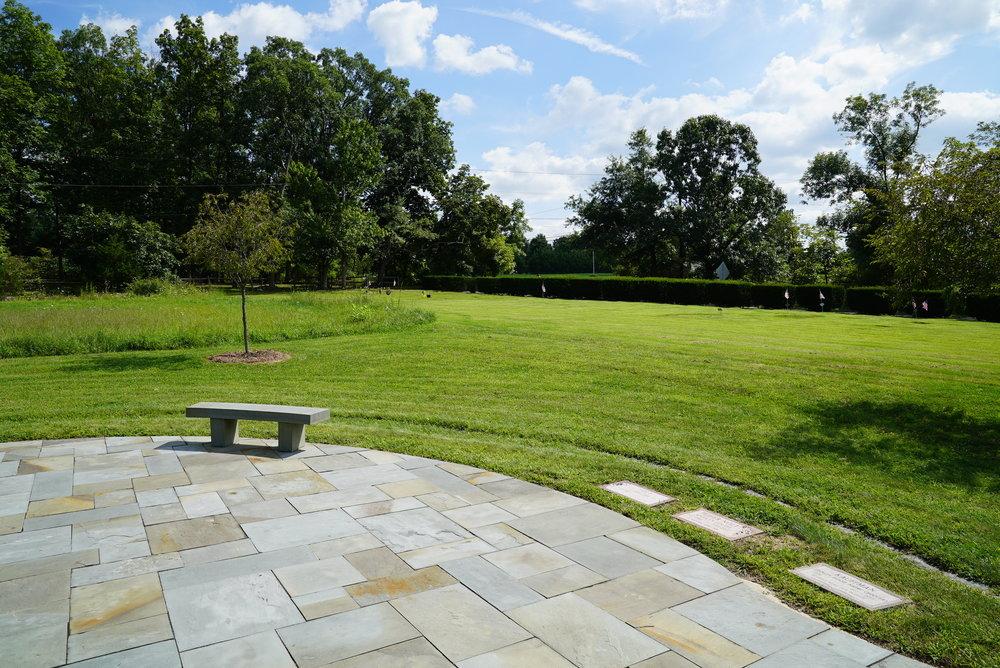 Nice slate work. Perkasie Mennonite Cemetery - Hilltown Township, Pennsylvania.