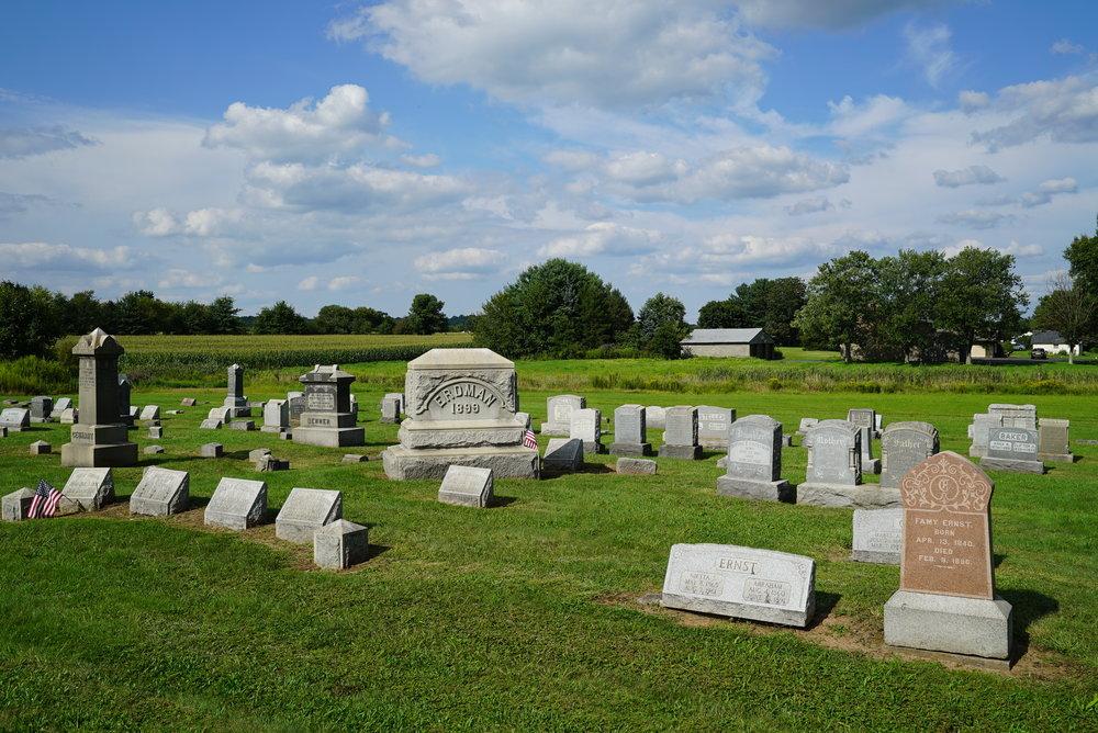 Richlandtown Union Cemetery, a.k.a. St. John's UCC Cemetery - Richlandtown, Pennsylvania.
