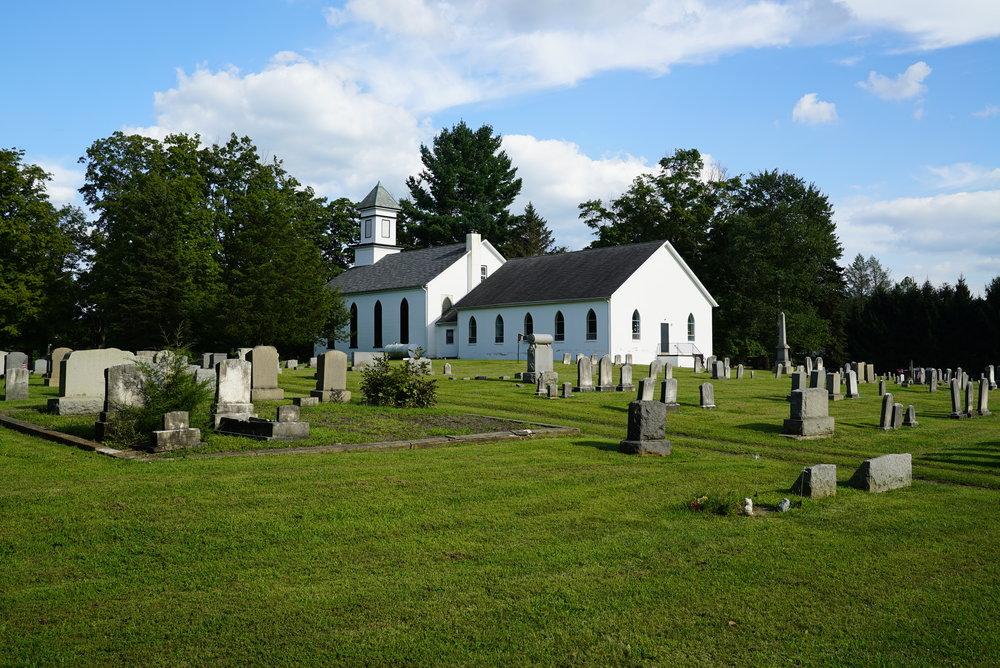 St. Paul's Evangelical Lutheran Church Cemetery - Haycock, Pennsylvania.