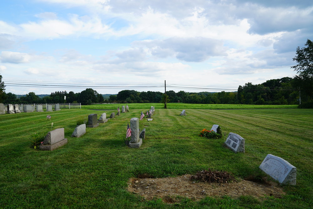 Springfield Mennonite Church Cemetery - Pleasant Valley, Pennsylvania.