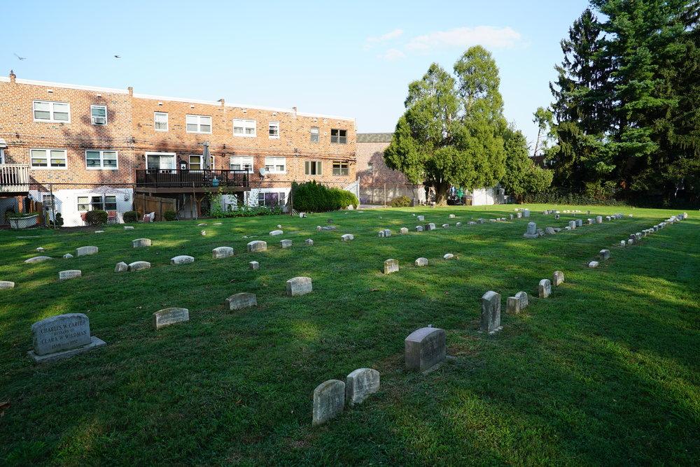 Byberry Friends Meeting Cemetery - Philadelphia, Pennsylvania.