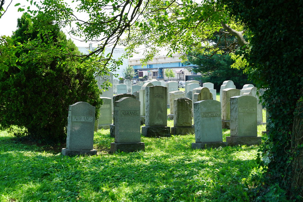Mikveh Israel Cemetery #3 - Philadelphia, Pennsylvania.