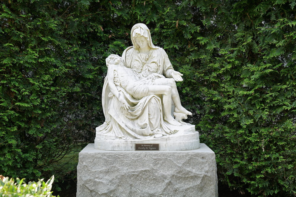 Statue at Sisters of Saint Joseph Cemetery - Philadelphia, Pennsylvania.